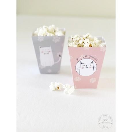 Prinditavad popcorni topsid - Kass