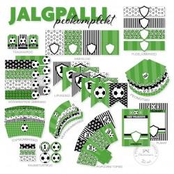 Prinditav komplekt - Jalgpall