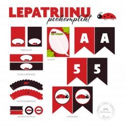 Prinditav komplekt - Lepatriinu