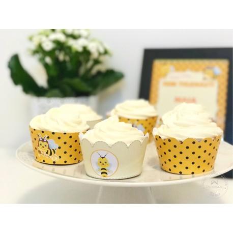 Prinditavad muffiniümbrised - Mesilane