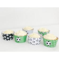 Prinditavad muffiniümbrised - Jalgpall