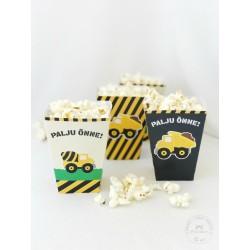 Prinditavad popcorni topsid - Suured masinad