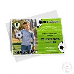 Kutse - Jalgpall, fotoga