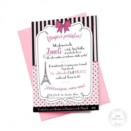 Prinditav kutse - Pariis