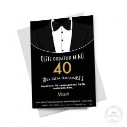 Prinditav kutse - Black Tie