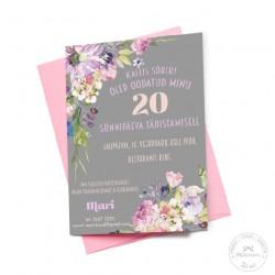 Prinditav kutse - Lilled, hall