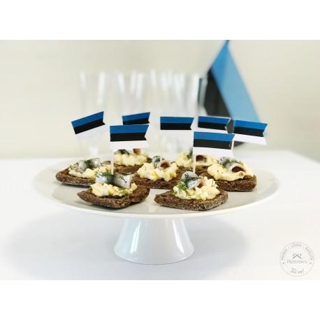 Prinditavad kaunistustikud - Eesti lipp